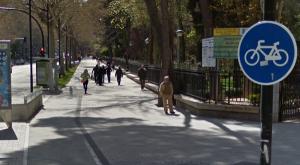 carril bici avenida españa