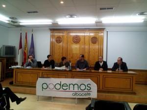 Asamblea Candidaturas Podemos