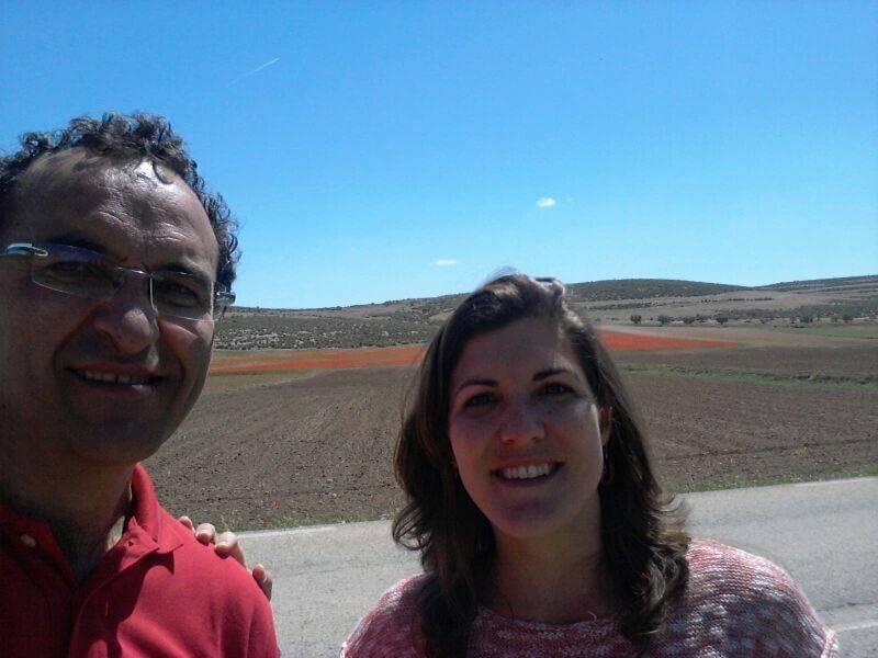 Goyo y Maria en ruta